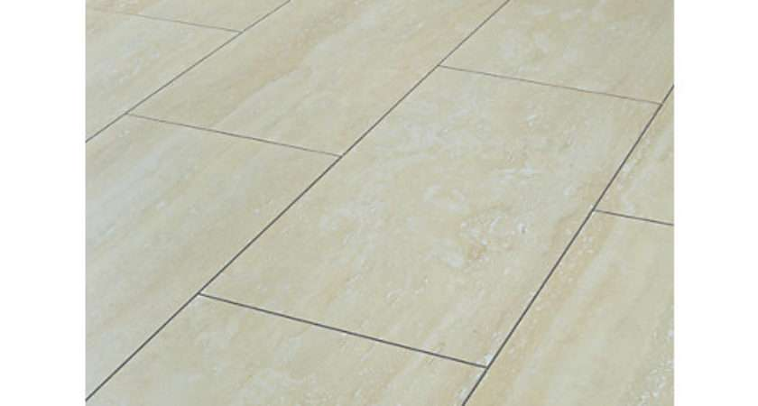 Wickes Travertine Tile Effect Laminate Flooring