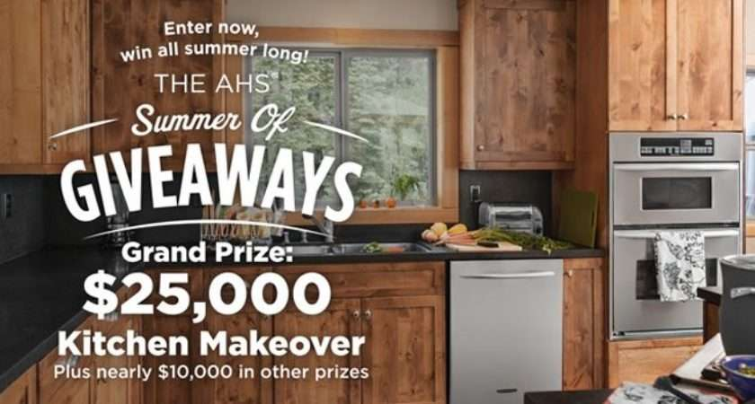 Win Kitchen Makeover Weekly Prizes Enter Here