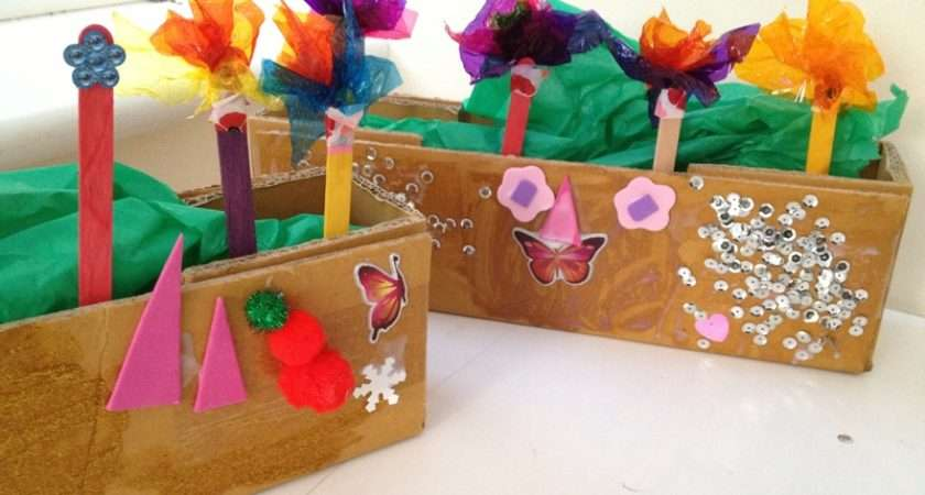 Window Box Recycled Kids Summer Boxes