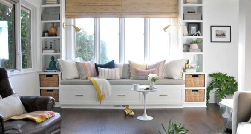 Window Seat Built Ins Reveal Befores Middles