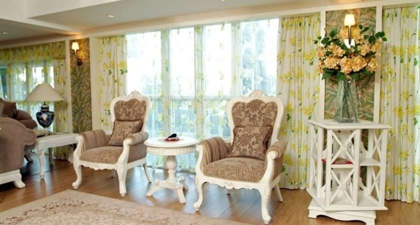 Window Treatments Ideas Country Style Curtains Living