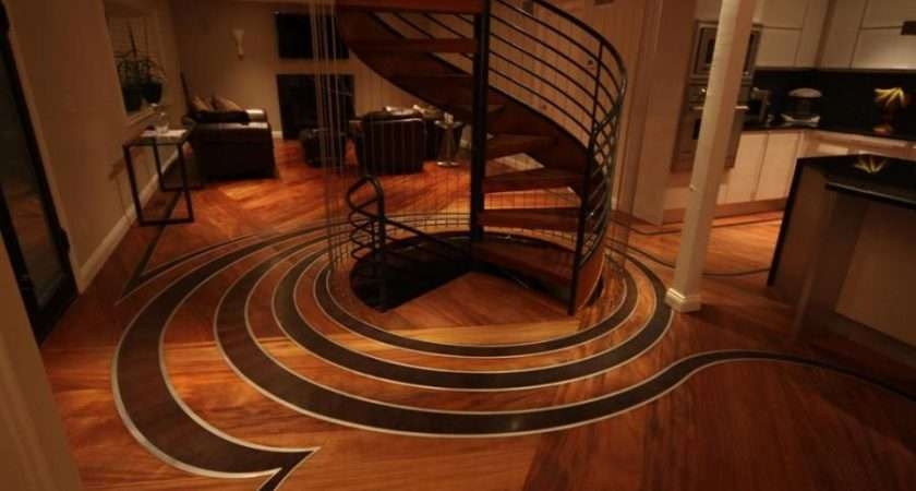 Wonderful Creation Wood Floor Designs Interior Design Ideas