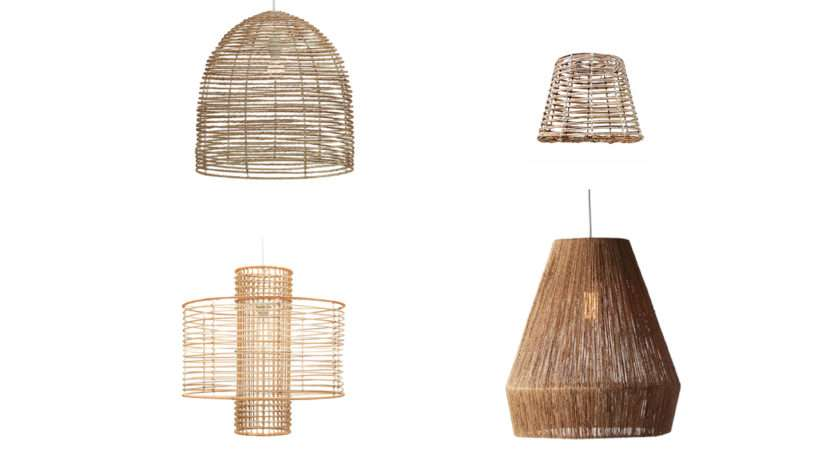 Wonderful Laika Medium Pendant Light Wicker Blu Dot