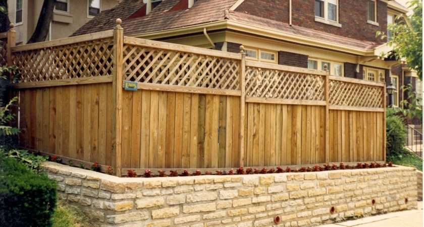 Wood Fence Styles Accessories Hoover Vinyl