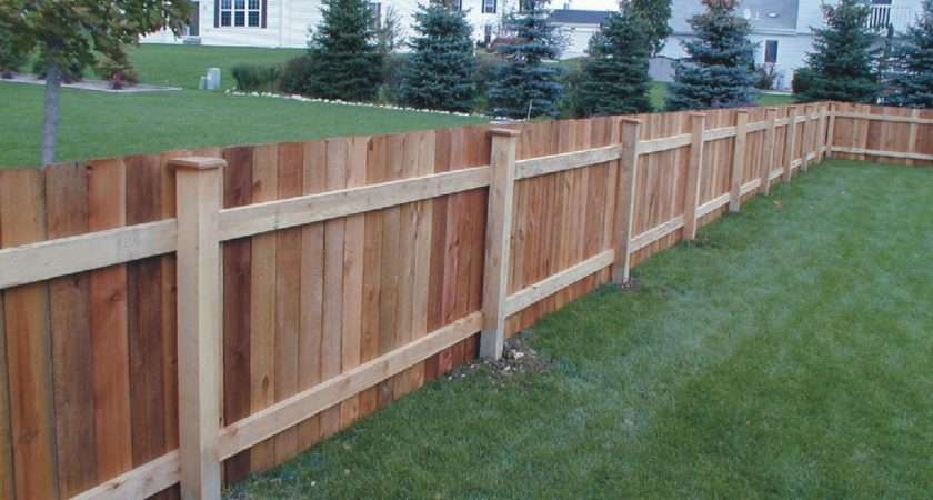 Wood Fencing Well Known Standard Industry