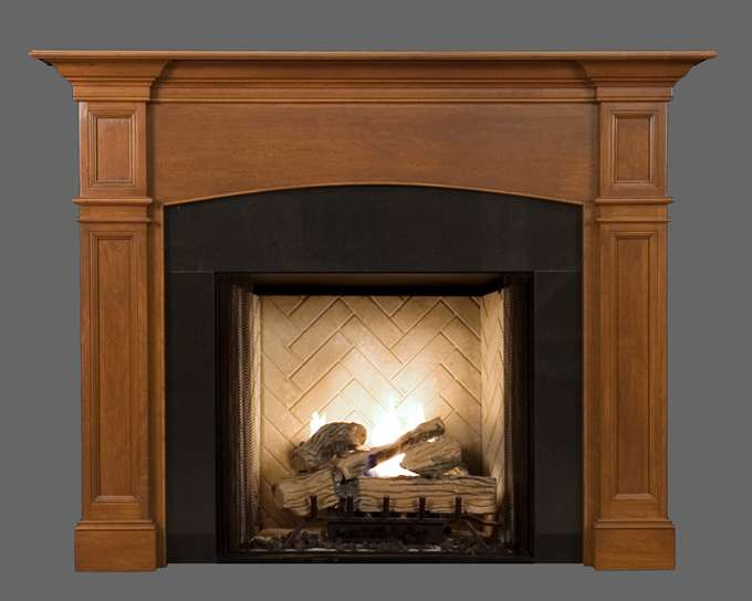 Wood Fireplace Mantel Mantels