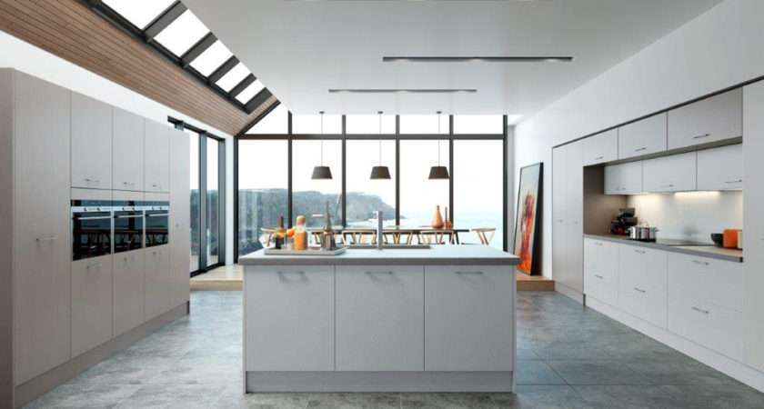 Wood Painted Kitchen Doors Made Measure Replacement
