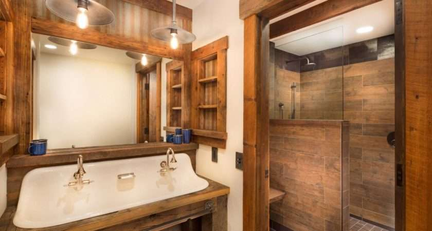 Wood Tile Showers Your Bathroom