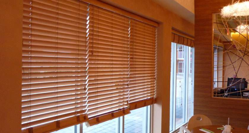 Wooden Blind Window Treatments Shack
