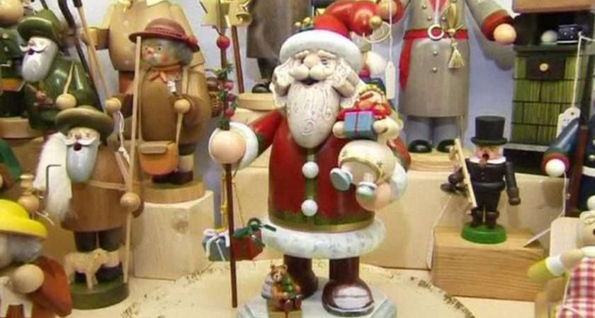 Wooden Christmas Decorations Made Bavarian Way Bbc