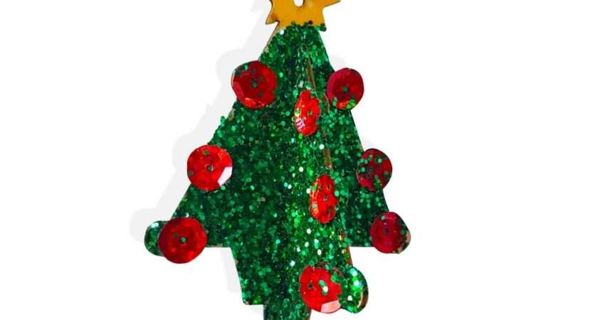 Wooden Christmas Tree Decoration Fun Wood