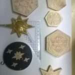 Wooden Christmas Tree Decorations Idea