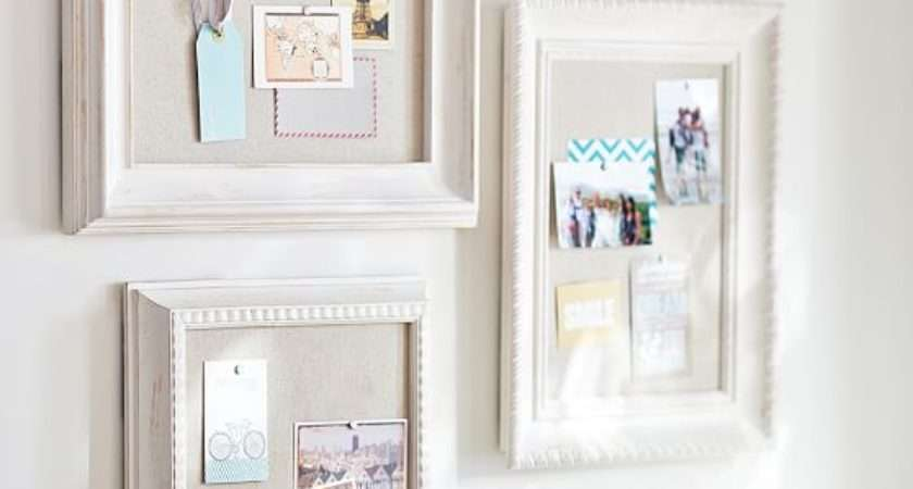 Wooden Eclectic Framed Pinboards Set Pbteen