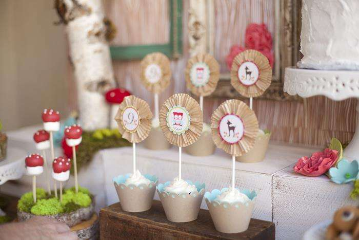 Woodland Owl Party Many Darling Ideas Via Kara