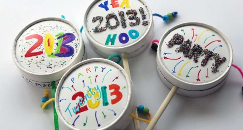 Worth Pinning Make New Year Eve Noise Makers