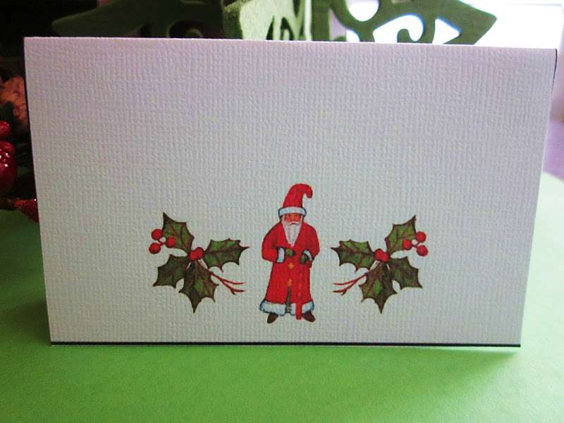 Would Like Your Own Set Christmas Place Cards Please