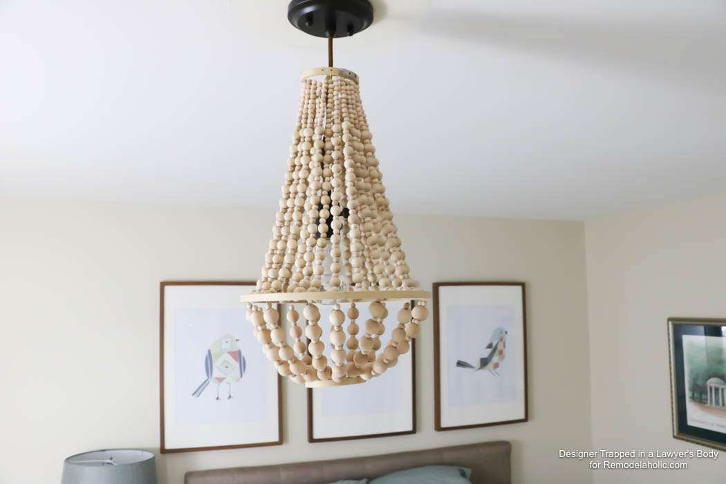 Wow Come Learn Make Your Own Wood Bead Chandelier