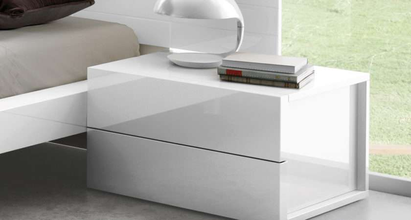 Wrap Bedside Cabinet Contemporary Cabinets Chests