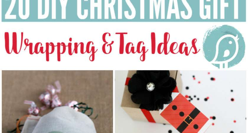 Wrapping Gifts Gift Wrap Tag Ideas Today