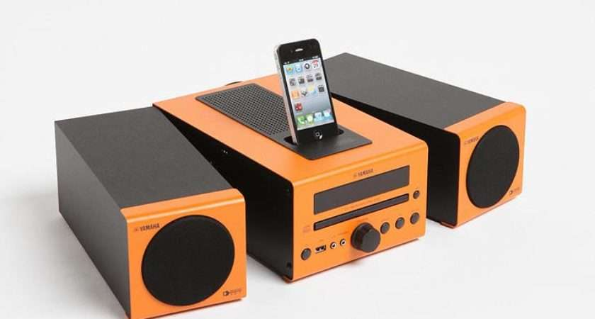 Yamaha Mcr Dock Speaker Available Five Colors Including