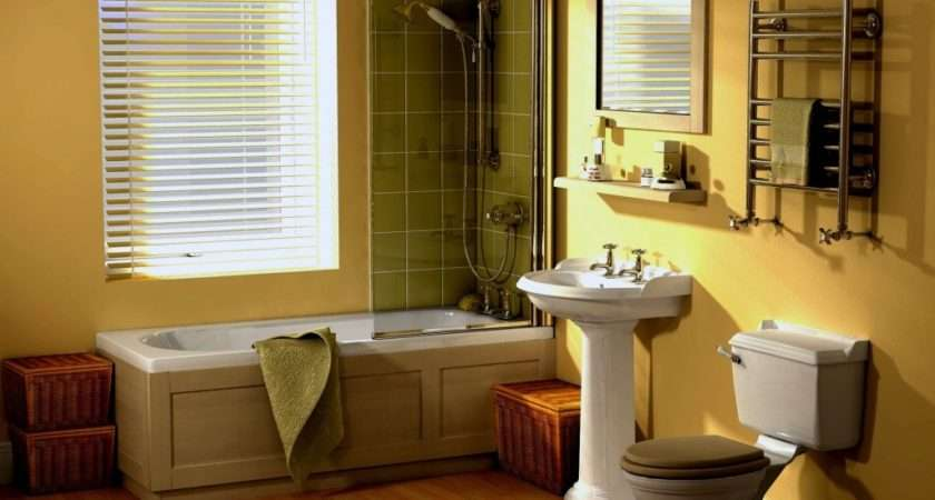 Yellow Bathroom Design Beautiful Decor Homecaprice