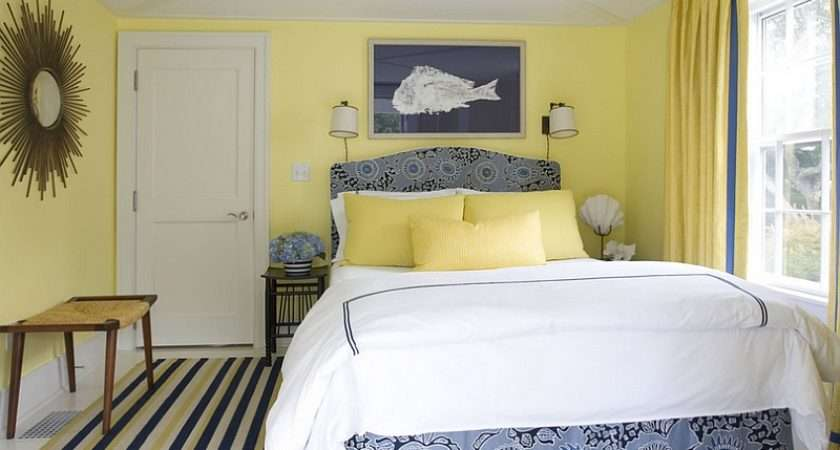 Yellow Blue Interiors Living Rooms Bedrooms Kitchens