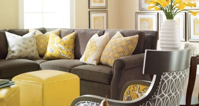 Yellow Gray Spaces Home Mehome