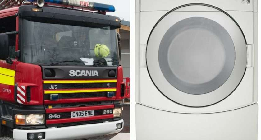 Your Tumble Dryer Fire Hazard Warning Number Well