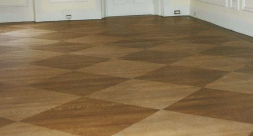 Your Wood Floors Can Have Unique Look Pattern Staining