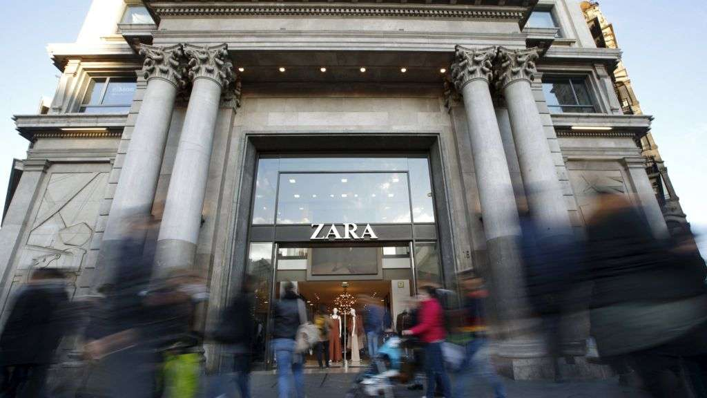 Zara Owner Inditex Posts Higher Profits Bbc News