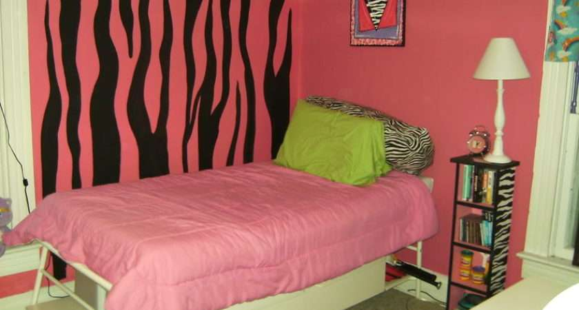 Zebra Room Girls Designs Decorating Ideas Hgtv