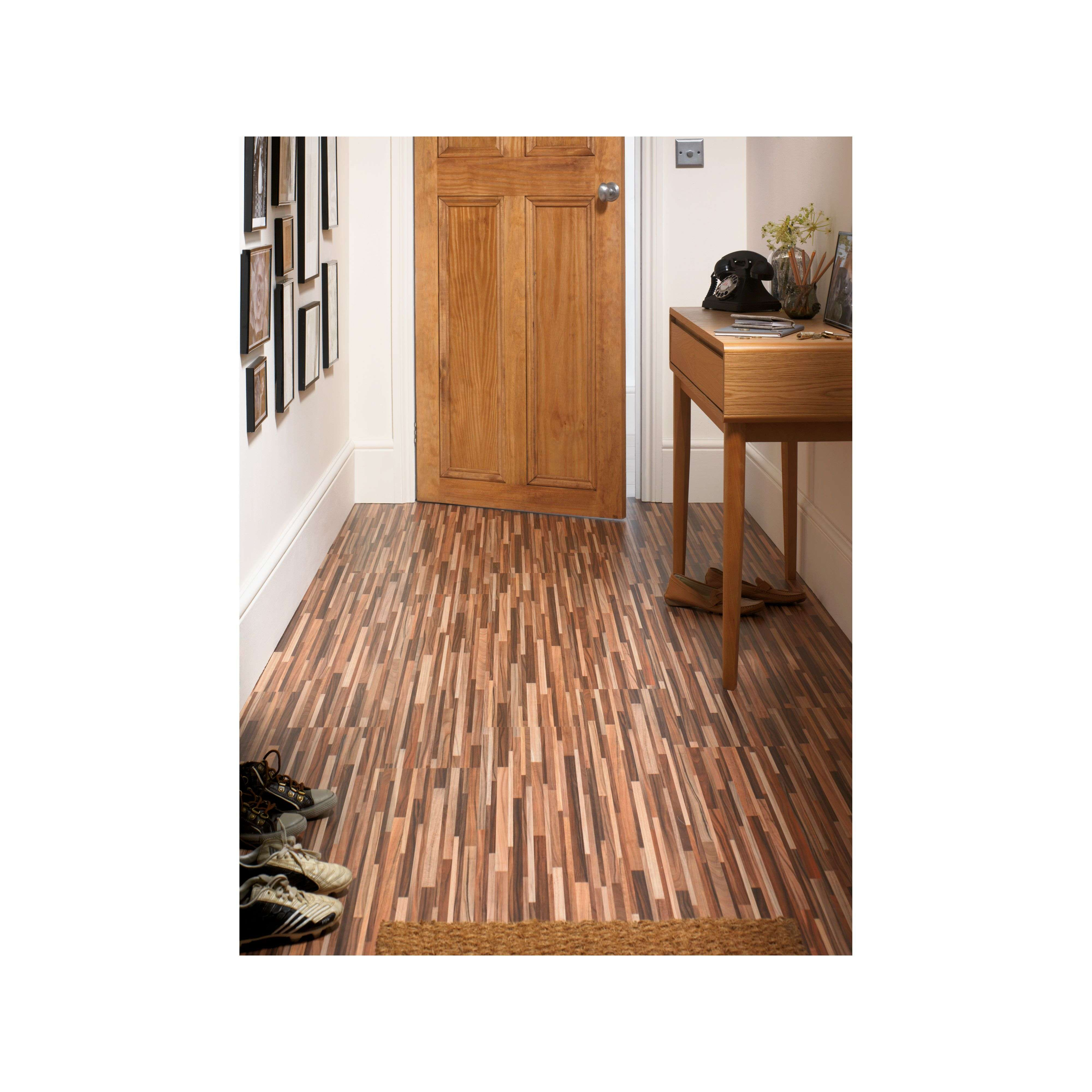 Zebrano Laminate Flooring Homebase - Extended Homes